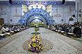 عکس های مراسم ترتیل خوانی یا جزء خوانی یا قرائت قرآن در ایام ماه رمضان در حرم فاطمه معصومه در شهر قم 32.jpg