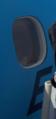 نافذة طائرة مصر للطيران من الخارج.PNG
