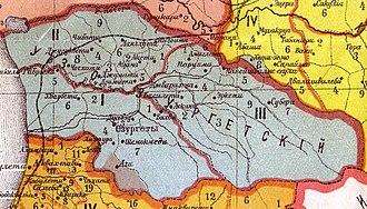 1841 rebellion in Guria - Guria under the Russian Empire
