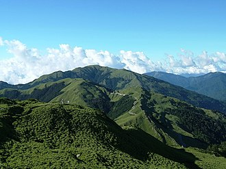 Ren'ai, Nantou - Mount Hehuan