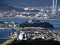 鏡山から唐津城を望む - panoramio.jpg