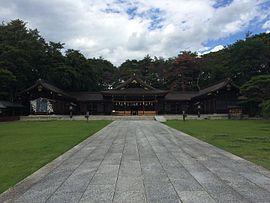 長野県護国神社 拝殿