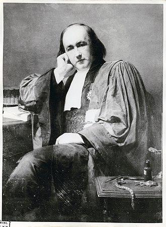 Brown Dog affair - Claude Bernard (1813–1878)