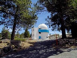 National Astronomical Observatory (Mexico) - Image: 0.84m Telescope San Pedro Martir Observatory Baja California Mexico