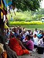 013 Listening to Dhamma Talk, Lumbini (9244125780).jpg