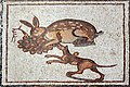 02XX Lod Mosaic Detail hare and dog anagoria.JPG