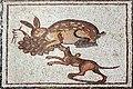 02XX Lod Mosaic Detail hare and dog anagoria.JPG