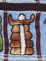 030 - Huipil Ceremonial Santiago Atitlan Detail Frontside 1989 03.JPG