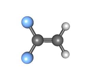 1,1-Difluoroethylene - Image: 1,1 Difluoroethylene