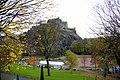 1. Princes Street Gardens. Edinburgh Castel appears in the background. Edinburgh, Scotland, UK.jpg