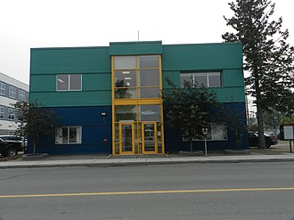 CJCD-FM - The station's studios located on 49th Street in Yellowknife.