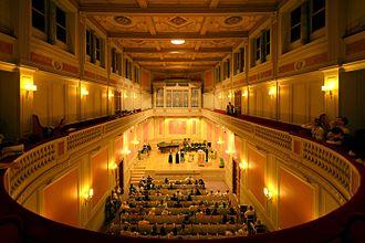 Conservatoire de Musique de Genève - Interior of Conservatoire de Musique