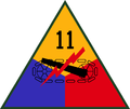11th US Armored Division SSI.png