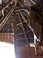 135 Parc arqueològic de les Mines de Gavà, model de cabana neolítica.JPG