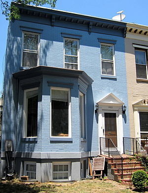 Georgia Douglas Johnson - The former Washington, D.C., residence of Georgia Douglas Johnson and site of the S Street Salon, an important literary salon of the Harlem Renaissance