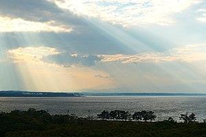 Tōhoku, Aomori - Lake Ogasawara from Tōhoku town