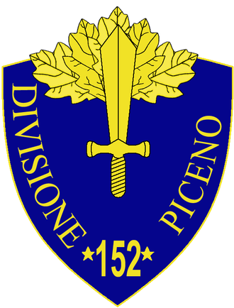 152nd Infantry Division Piceno - 152nd Infantry Division Piceno Insignia