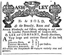 1739 LondonPunchHouse LondonEveningPost October6.png