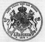 1870 Swedish 4 riksdaler reverse.png