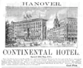 1885 Continental Hotel Hanover ad Harpers Handbook for Travellers in Europe.png