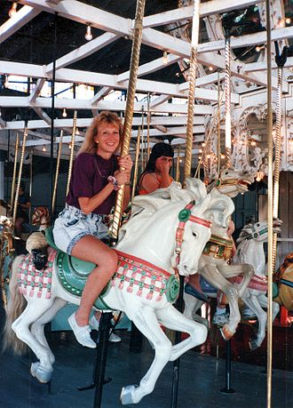 Charles I. D. Looff - 1895 Crescent Park Looff Carousel c.1980s