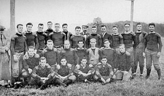 1911 Michigan Wolverines football team - Team portrait taken by A. S. Lyndon, September 1911