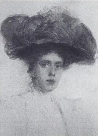 Rose Standish Nichols - Portrait of Rose Standish Nichols, by Taylor Greer, 1912