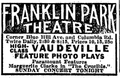 1915 FranklinParkTheatre BostonDailyGlobe January24.png