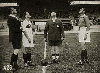 Turkey at the 1928 Summer Olympics - Coin toss between Turkey and Egypt captains on 28 May 1928.
