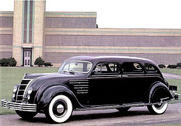 Una Chrysler Imperial CL del 1934