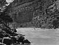 1953 Sierra Club Green River Canyon Trip. An unidentified Sierra Club member running Dinosaur National Monument's Yampa River (27388e5b5be84d839dbb9888ac226e61).jpg