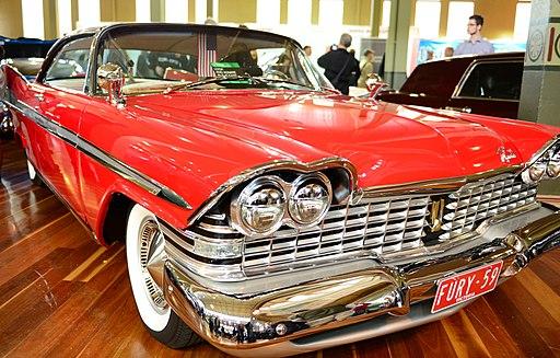 1959 Plymouth Fury (2013 RACV Motorclassica) (10491831395)
