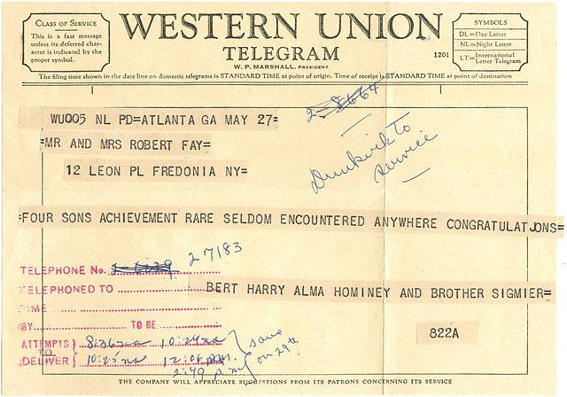 File 1959 Western Union Telegram Jpg Wikimedia Commons