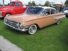 La Chevrolet Impala MY 1960