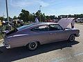 1966 AMC Marlin in Marquessa Light Mauve with black vinyl at AMO 2015 meet 05.jpg