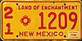 1966 New Mexico (USA) license plate.jpg