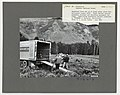 1967. Neodymium lidar set up to track spray cloud from helicopter. Truck carries automatic playback and recording equipment for lidar. Insecticide evaluation project. Sawtooth NF, ID. (34244517432).jpg