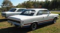 1969 AMC SC Rambler Hurst B-scheme exterior finish at Potomac Ramblers Club meet 2of2.jpg