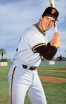 1986 San Francisco Giants Postcards Will Clark.jpg