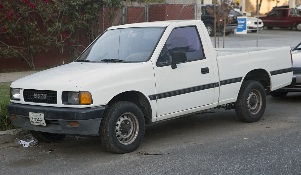 file 1990 isuzu pickup 2wd front wikipedia. Black Bedroom Furniture Sets. Home Design Ideas