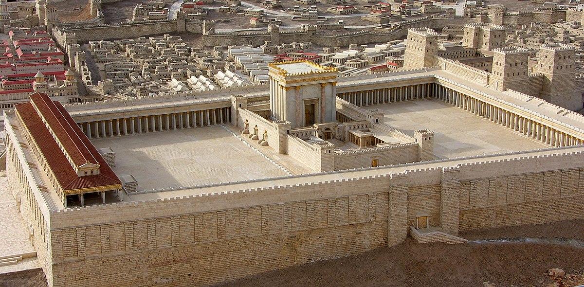 Zerstörung Des Tempels