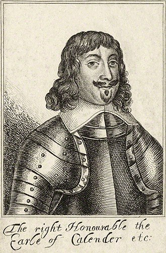 James Livingston, 1st Earl of Callendar - The Earl of Callendar.