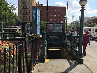First Avenue (BMT Canarsie Line) - Entrance