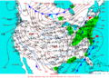 2003-02-07 Surface Weather Map NOAA.png