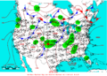 2005-06-12 Surface Weather Map NOAA.png