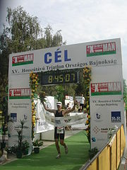 József Major, Staatsmeister Triathlon Langdistanz 2005