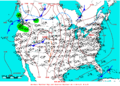 2006-04-10 Surface Weather Map NOAA.png
