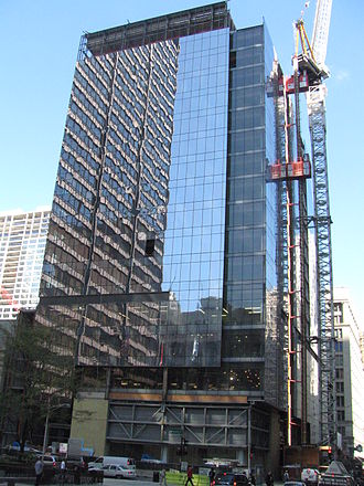 108 North State Street - The first of the three structures is at 22 West Washington.