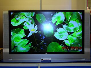 Large-screen television technology technology