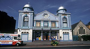 Aziziye Mosque (London) - Facade on Stoke Newington Road